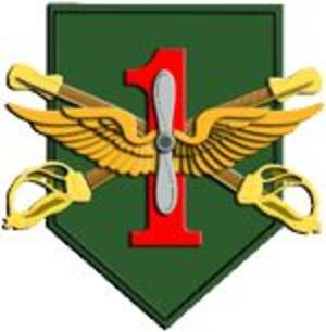Combat Aviation Brigade, 1st Infantry Division (United States) - Combat Aviation Brigade, 1st Infantry Division badge