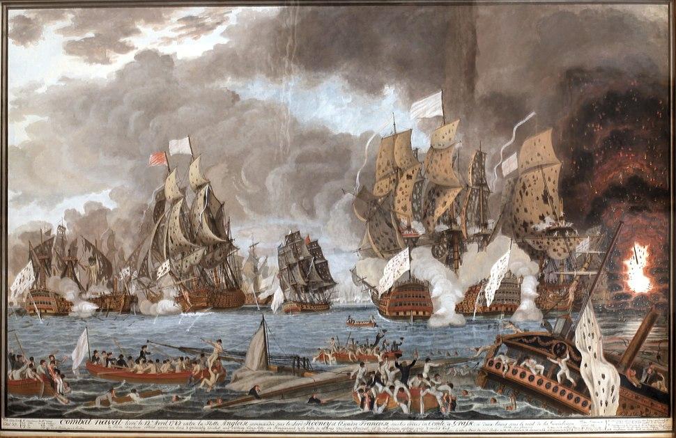 Combat naval 12 avril 1782-Dumoulin-IMG 5481