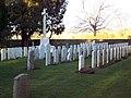Commonwealth War Graves in St John the Evengelist Churchyard - geograph.org.uk - 332611.jpg