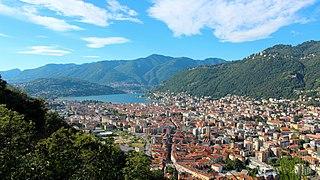 Como Comune in Lombardy, Italy