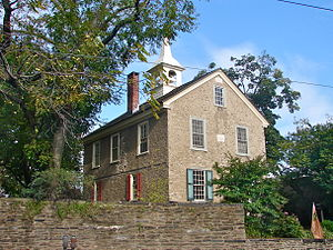 Concord School House (Philadelphia) - View from northwest
