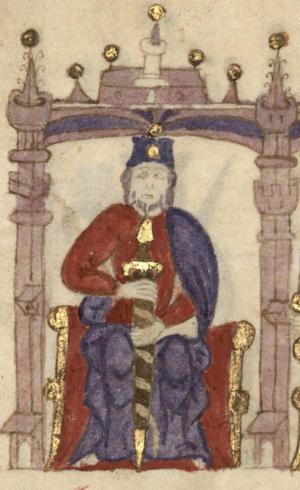 Henry, Count of Portugal - Image: Conde D. Henrique Compendio de crónicas de reyes (Biblioteca Nacional de España)