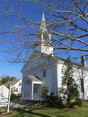 North Falmouth, Massachusetts - Congregational Church