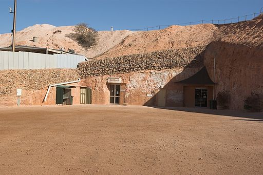 Coober Pedy - Dug-out in Coober Pedy