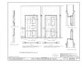 Corines Quackenbush House, Wyckoff and Franklin Avenues, Wyckoff, Bergen County, NJ HABS NJ,2-WYCK,5- (sheet 22 of 24).png