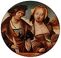 Cornelis Engebrechtsz. - St Cecilia and her Fiancé - WGA7517.jpg