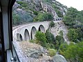 Corsica - Venaco-Vivario train - a viaduct - panoramio.jpg