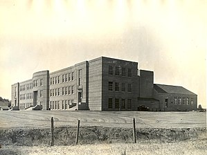 Corvallis High School (Oregon) - 1935 Structure