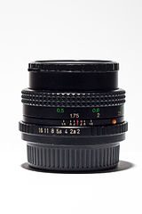Cosina Cosinon-s 50mm F2 (14498121774).jpg