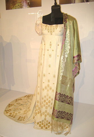 War and Peace (film series) - A costume used during the filming.