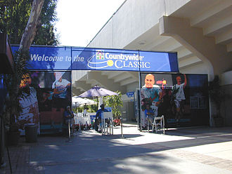 Los Angeles Open (tennis) - Main Entrance to the Countrywide Classic at UCLA's L.A. Tennis Center.