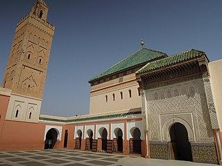 Zawiya of Sidi Bel Abbes building in Africa