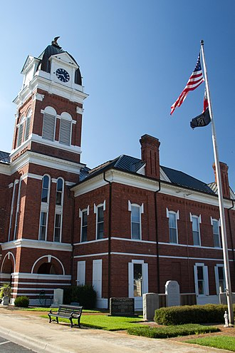 Washington County, Georgia - Image: Courthouse in Sandersville