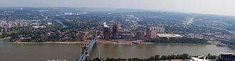 History of Covington, Kentucky - Skyline of Covington Kentucky