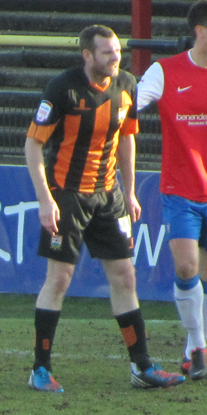 Craig Beattie - Beattie playing for Barnet in 2013