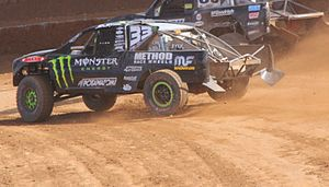 C. J. Greaves - Greaves' 2013 Pro 2 truck at Crandon International Off-Road Raceway