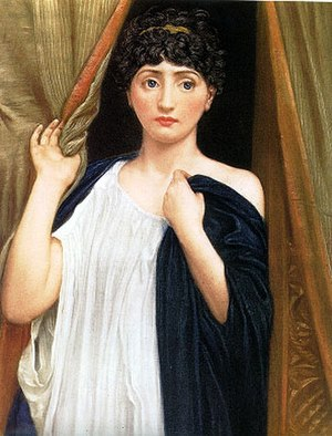 Troilus and Cressida - Cressida by Edward Poynter