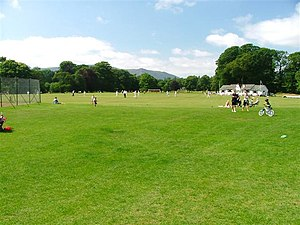 Fitz Park - Image: Cricket Match, Fitz Park geograph.org.uk 47701