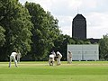 Cricket at St John's College Ground - geograph.org.uk - 1393347.jpg