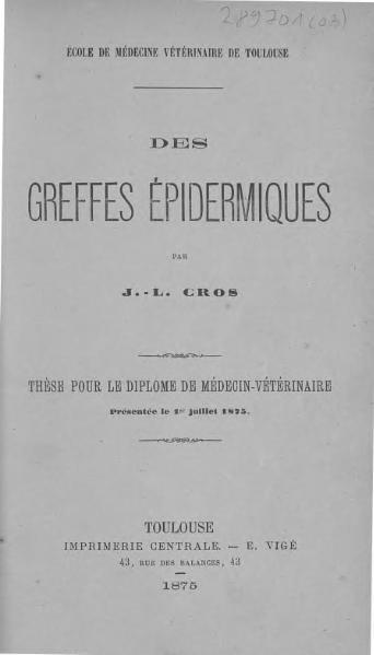 File:Cros - Des greffes épidermiques.djvu