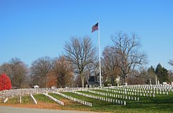Crown Hill National Cemetery, Indianapolis, Indiana.jpg