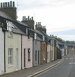 Harbour Street i Cruden Bay