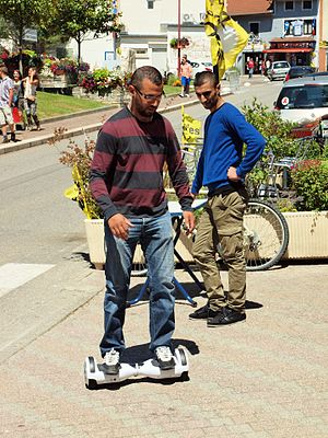 Personal transporter - A self-balancing hoverboard