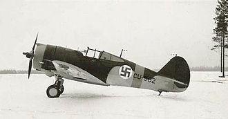 Curtiss P-36 Hawk - Curtiss Hawk 75A-3 in Finnish service