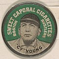 Cy Young, Boston Red Sox (green), from the Domino Discs series (PX7), issued by Kinney Brothers MET DP868946.jpg