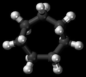 Cycloheptane - Image: Cycloheptane 3D balls