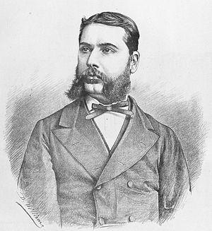 Alexandru Lahovary - Image: D. William Alexandre N. Lahovari Amcien Ministre de la Justice