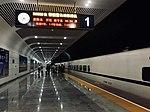 D3568 by CRH2A-2286 at Longdongbao Railway Station.jpg