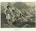Daghestan septentrional. Arrivee a Tsatanykh. (1847).jpg