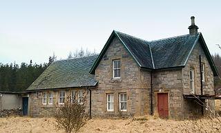 Dalchreichart Human settlement in Scotland