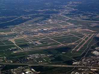 Dallas–Fort Worth metroplex - Dallas/Fort Worth International Airport
