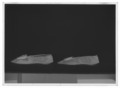 Damsko, pumps, (till vänsterfot) av svart siden - Livrustkammaren - 78061-negative.tif