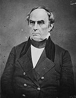 U.S. Secretary of State Daniel Webster (1841-1843), who advised President Tyler to escalate the conflict over the Upper Peninsula.
