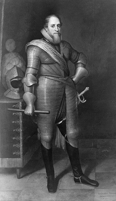 Daniel (I) Mytens - Prins Maurits (1567-1625) - SA 23613 - Amsterdam Museum