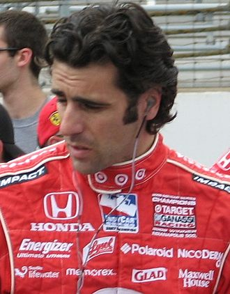 2007 IndyCar Series - Image: Dario Franchitti 2009 Indy 500 Carb Day