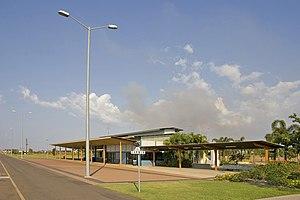 Darwin railway station - Station in September 2007