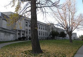 Oliver High School - Image: David Oliver High School