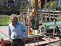 David Leal and the SB Decima at Dartford Lock 8748.jpg