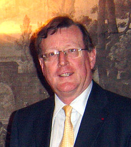 David Trimble in Hillsborough Castle (december 2007)