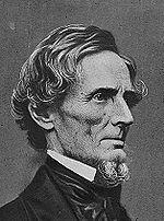 Jefferson Davis – prezydent Konfederacji.
