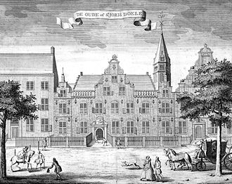 Provisional Representatives of the People of Holland - St. Jorisdoelen, the building where the representatives first assembled