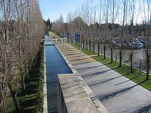 Copia (museum) - Copia's entranceway, 2007