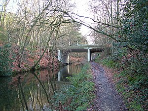 Deepcut - Deepcut bridge over the Basingstoke Canal