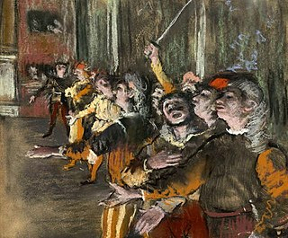 1877 pastel by Edgar Degas