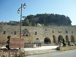 Deir al-Qamar Place in Mount Lebanon Governorate