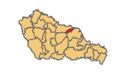 Location within Međimurje County